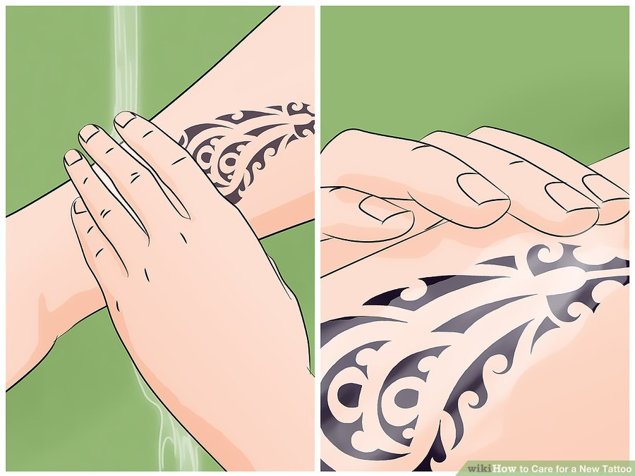 Care-for-a-New-Tattoo-Step-7